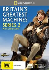 National Geographic: Britain's Greatest Machines - Series 2 NEW R4 DVD