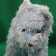 BIG BUILD A BEAR BLUE TERRIER PUPPY DOG PLUSH STUFFED ANIMAL RETIRED RARE TOY