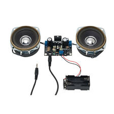 Stereo Amplifier Electronics Kit. 10W + 10W 10W With Speakers Amplifier