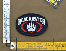 "Ricamata / Embroidered Patch PMC Contractor ""Blackwater"" with VELCRO® brand hook"