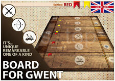 Witcher 3 Gwent Game Board Cloth Playing Surface Mat for Gwent Cards Decks  *UK