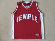 Temple owls ncaa swingman sewn #14 basketball jersey shirt-homme x large xl