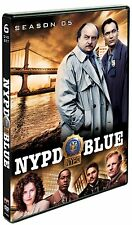 NYPD BLUE Complete Fifth SEASON 5 Five DVD Set Series TV Show Episode Dennis Fra