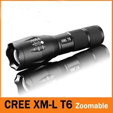 NEW fashion 2200LM CREE XM-L T6 LED Zoomable Flashlight Torch Light 18650/AAA