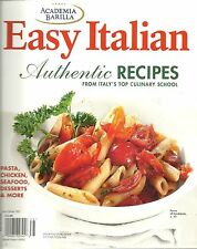 ACADEMIA BARILLA EASY ITALIAN 2013 SOFTCOVER COOKBOOK AUTHENTIC RECIPES 9/2016