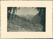 France, Abriès, le Haut-Queyras  Vintage silver print Tirage argentique  8