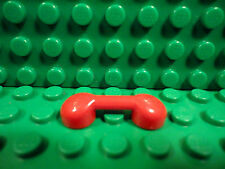 Lego 1 Red bar 1x3 smooth phone handset NEW