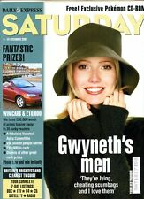GWYNETH PALTROW - ANNA BRECON - DAILY EXPRESS SATURDAY MAGAZINE - 8- 14 DEC 2001