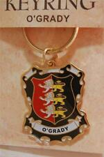 O'GRADY Family Coat of Arms Heraldic KEYRING Key Chain