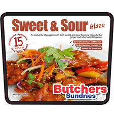 Sticky Sweet & Sour glaze 2.5kg tub/ Seasoning Spice /Vegetable / Meat Rub