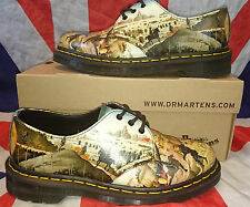 D'Antonio Renaissance*1461 Dr Doc Martens Shoes*Art Festival Unique Print*Punk*4