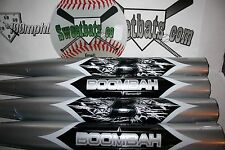 New Boombah Senior Softball Bat 34 26 NIW Non ASA BBSSK1 Silver SP Slowpitch