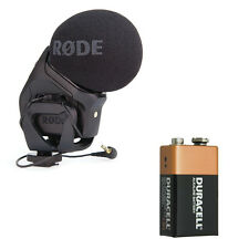 Rode Stereo VideoMic Pro with FREE 9V Battery
