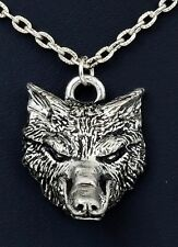 """Alchemy Gothic P.153 """"WODEN""""S WOLF"""" Necklace, Pendant, Neck Thong NOS"""