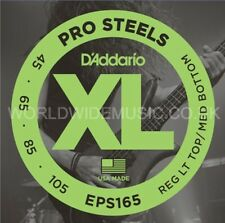 D'Addario EPS165 Pro Steel Custom Light Long Scale Bass Guitar Strings 045 - 105