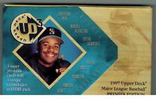 UNOPENED 1997 UPPERDECK UD3 HOBBY BASEBALL PACK FROM BOX JETER GRIFFEY JR AUTOS