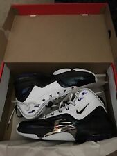 Nike Air Pippen 6 Basketball shoes White Purp Silver 705065-151 U.S Mens 8 $150