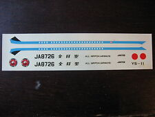 1/200 DECALS NAMC YS 11 ALL NIPPON AIRWAYS DECALCOMANIE