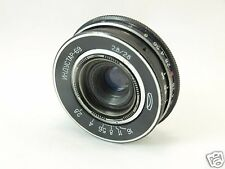 INDUSTAR-69 2.8/28 mm f/2.8 RUSSIAN USSR pancake LENS M39 MOUNT NICE COND