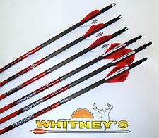 Black Eagle Carnivore Carbon Arrows 400/.003 6 Pack