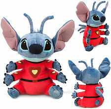"Disney Store Hawaii Lilo & Stitch in Spacesuit 4 arm Alien 16"" Plush Toy Doll"