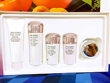 SHISEIDO WHITE LUCENT BRIGHTENING BALANCING SOFTENER ENRICHED 5pcs Travel Box S