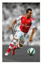 SANTI CAZORLA - ARSENAL AUTOGRAPHED SIGNED A4 PP POSTER PHOTO
