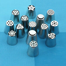 14 Quality Russian Tulip Icing Piping Nozzle Set Cake Cupcake Decoration Tips