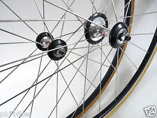 Roval Wheelset high low freewheel hub Tubular Rims Vintage road Bike 700c