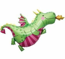 Castle Fairy Tale Princess DRAGON Mythical Birthday Party Balloon