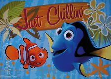 "DISNEY/PIXAR - Finding Nemo ""Just Chillin' "" MAGNET ~ NEW!"