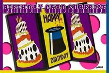 BIRTHDAY PARTY CARD SURPRISE SCREEN Temple Panels Magic Trick Stage Production