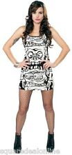 130306 Black & White Melting Monsters Tank Dress Sourpuss Punk Goth XX-Large 2XL