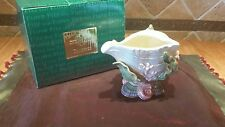 New FF Fitz and Floyd Classics Decorative Sea Shell Oceana Butter Server Dish