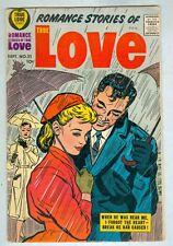 Romance Stories of True Love #51 September 1958 VG