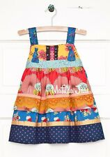 New MATILDA JANE Girls Size 4 SECRET FIELDS BARN PARTY KNOT DRESS