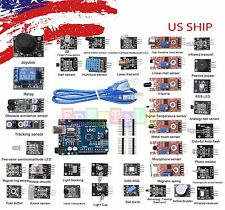 Ultimate 37 in 1 Sensor Modules Kit and Uno R3 Board Completer Kit For Arduino