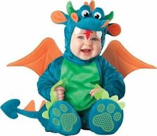 Incharacter 4pc Dinky Dragon Plush Halloween Costume- 6 /12 M Baby  NEW