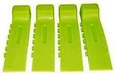 NEON GREEN! Tire Skates - TOW TRUCK, WRECKER, ROLLBACK, CARRIER - Wreckmaster