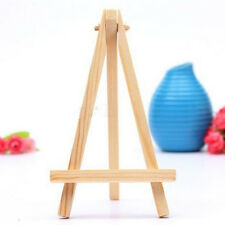Mini Wooden Cafe Table Number Easel Wedding Place Name Card Holder Stand FG
