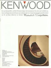 Kenwood Katalog Prospekt UD-700 UD-500 UD-300 UD-900 M-760 M-560 M-850 M-25