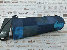 QUIKSILVER Stationery Case Square Design Grey Pen Pencil Cases Packet BNWT