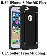 SUPCASE iPhone 6 Plus/6S Plus Unicorn Beetle Hybrid Protective Bumper Case Blk2