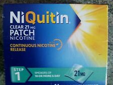 Niquitin clear 24hr nicotine patches, step 1, 7 day supply