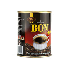 Brooke Bond BON 100% Pure & Natural Instant Indian Coffee Tin Can 100g 3.5oz