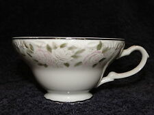Sheffield Fine China Classic 501 Footed Tea Cup Pink Roses