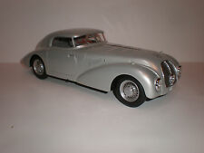 1/18 Bos Models 1938 Mercedes Benz 540K W29 Streamlined Dunlop silver LE of 1000