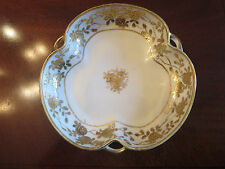 Estate Sale - Antique 1911-1921 Nippon with Ornate Gold Pattern Embossed Dish