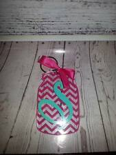 Monogram Mason Jar Key chain