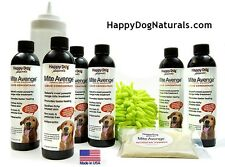 Mite Avenge by Happy Dog Naturals - Natural Treatment for Demodectic Dog Mange